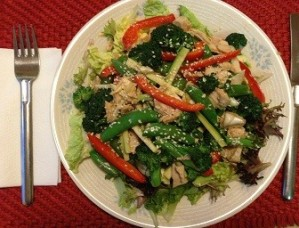 Jo-Ann's Chinese Chicken SALAD