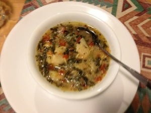 Spinach-Tortellini Soup