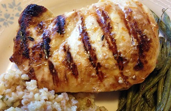 Chicken Breasts Grilled Caribbean