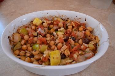Sephardic Zucchini & Chickpea Stew