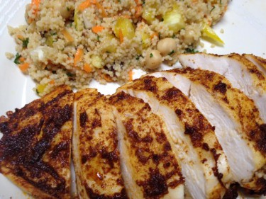 chicken moroccan baked chicken