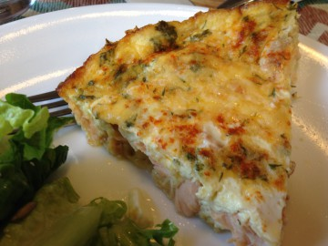 crustless salmon quiche 2