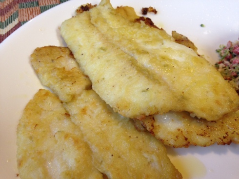 Tilapia Honey Lime