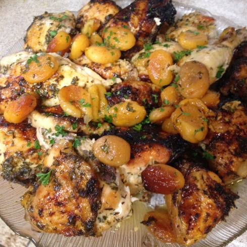 chicken apricot ginger