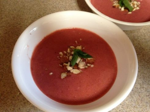 Cold Plum Soup
