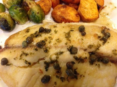 tilapia-with-lemon-caper-sauce