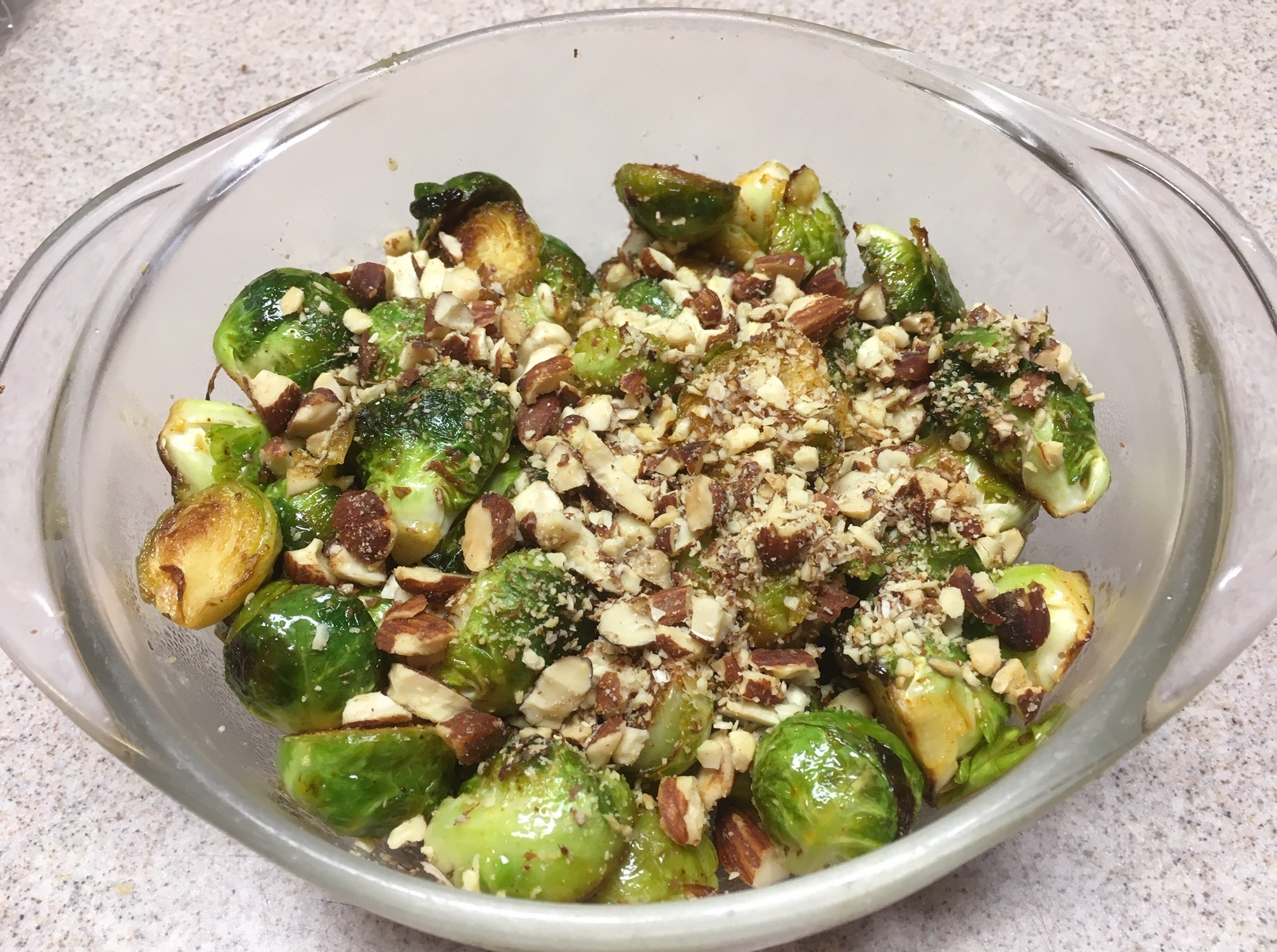 brussels sprouts, smoky