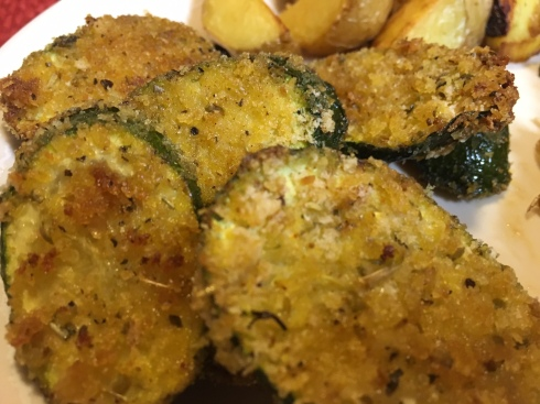 zucchini oven fried
